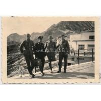 Allgemeine SS soldier in Austria