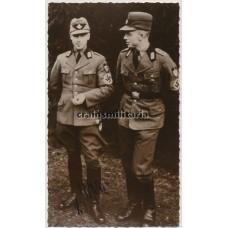 Knight's Cross winner Heinrich Wetjen - postwar signed photo
