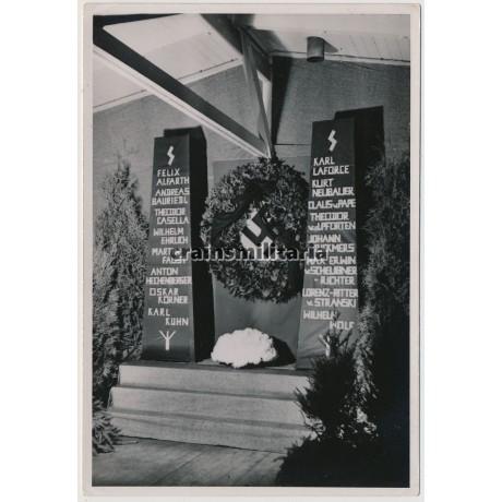 Monument for fallen Putsch nazis