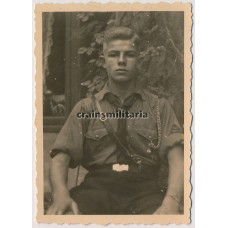 Hitlerjugend boy portrait