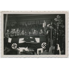 Hitler during Stahlhelmbund rally