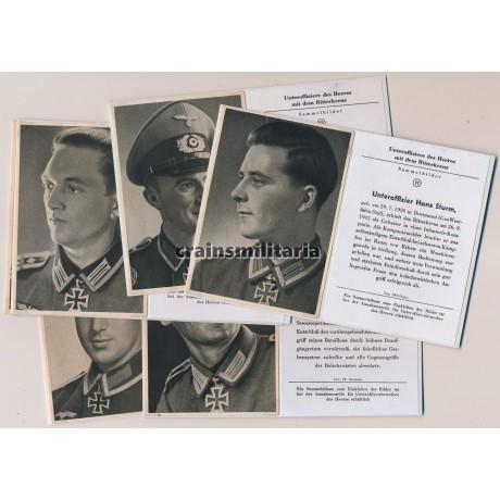 Unteroffiziere des Heeres mit dem Ritterkreuz
