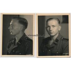 SS Sturmmann portraits
