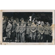 SS, Political, WH officers in Sudetenland