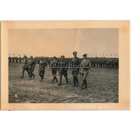Hitler during V. Armeekorps parade 1936