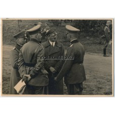 Hitler meeting with generals