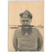 Franz Beyer wearing Knight's Cross