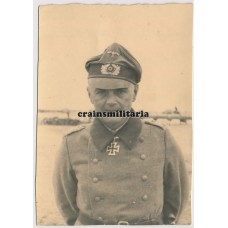 Franz Beyer wearing Knight's Cross