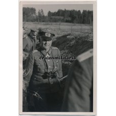 General Franz Beyer in the field