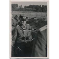 General Franz Beyer in the field
