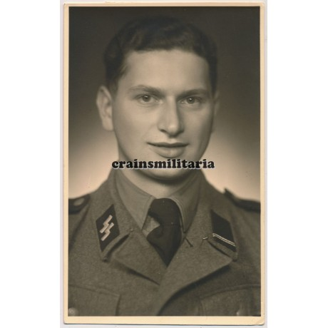 Postcard sized SS portrait