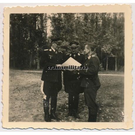 Bruno Loerzer with Werner Mölders