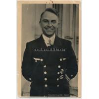 Günther Prien - Hoffmann postcard