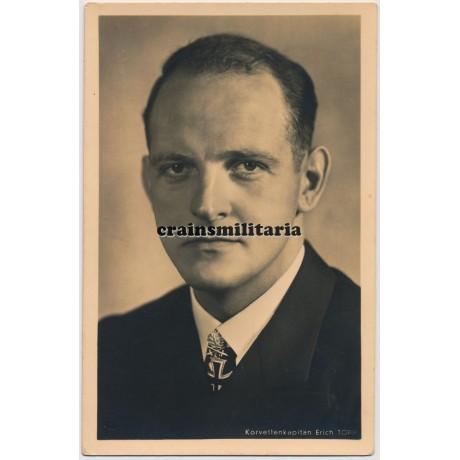 Erich Topp - Hoffmann postcard