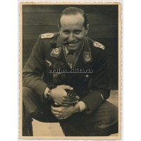 Jagdflieger Rolf Pingel with Knight's Cross