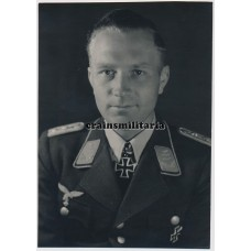 Wilhelm Knapp private Knight's Cross photo