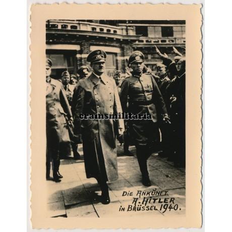 Hitler in Brussels 1940