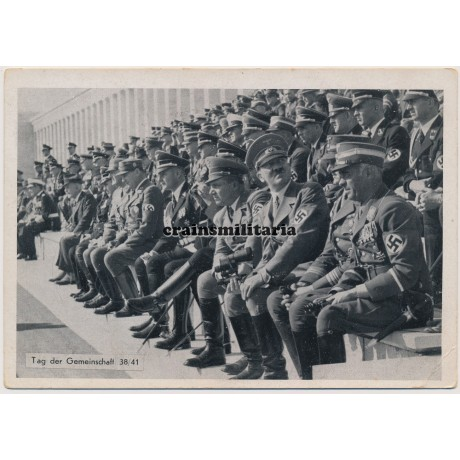 Hitler postcard - Tag der Gemeinschaft