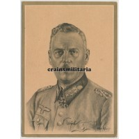 Wilhelm Keitel postcard portrait