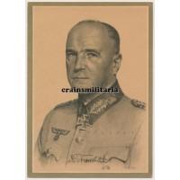 Walther von Brauchitsch postcard portrait