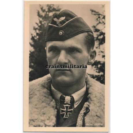 Hoffmann postcard Major Lützow