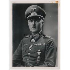 General Erwin Engelbrecht portrait photo