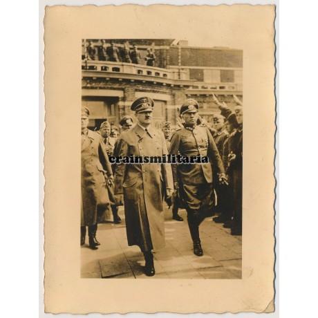 Hitler in Brussels