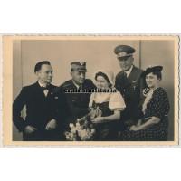NSDAP family wedding portrait