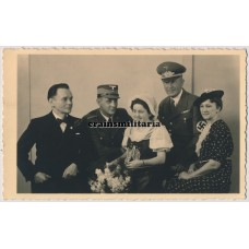 NSDAP family wedding portrait