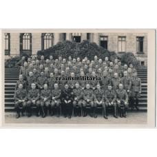 Political school portrait with Allgemeine SS