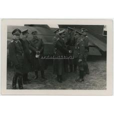 Reichspressechef Otto Dietrich at airfield