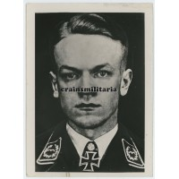 Press photo Major Theodor Nordmann, Knight's Cross