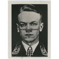 Press photo Major Theodor Nordmann, Knight's Cross