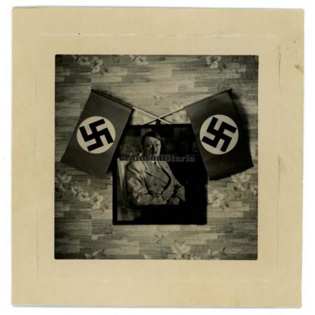 Hitler decoration in German home