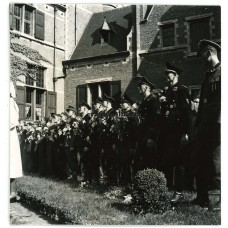Flemish SS and VNV members at Deurne ceremony