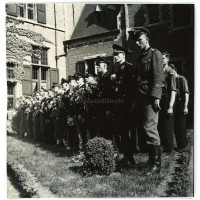 Flemish SS and Leibstandarte at Deurne ceremony