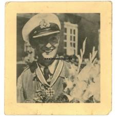 U-Boot commander Günter Hessler Knight's Cross portrait