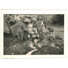 Killed SS truck driver in France 1940