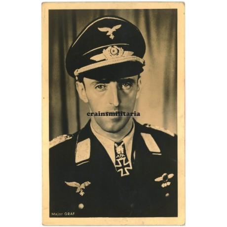 Major Graf - Hoffmann postcard