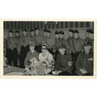 NSKK Officer wedding