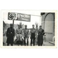 SA with Austrian annexation propaganda
