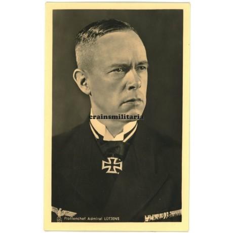 Admiral Lütjens - Hoffmann postcard