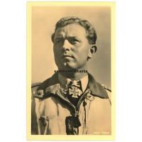 Major Oesau - Hoffmann postcard