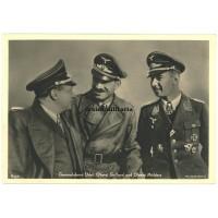 Udet, Galland und Mölders - Hoffmann postcard