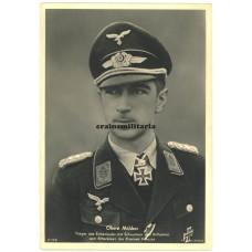 Oberst Mölders - Hoffmann postcard
