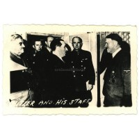Hitler with staff in Allied photo