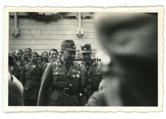 Konrad Hierl in Nürnberg 1934