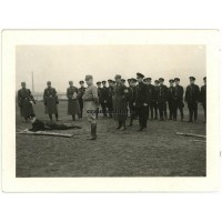Polizei members in SA Sportabzeichen test