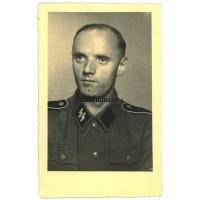 SS Soldier postcard portrait