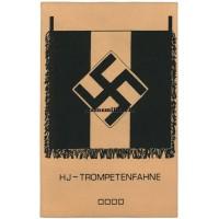HJ-Trompetenfahne Hitlerjugend postcard